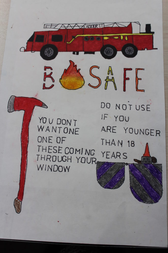 fire prevention poster contest 2018
