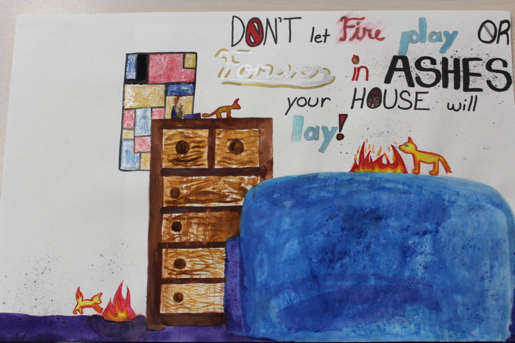 Car For Kids >> Fire Prevention Poster Contest 2018 - City of Woburn